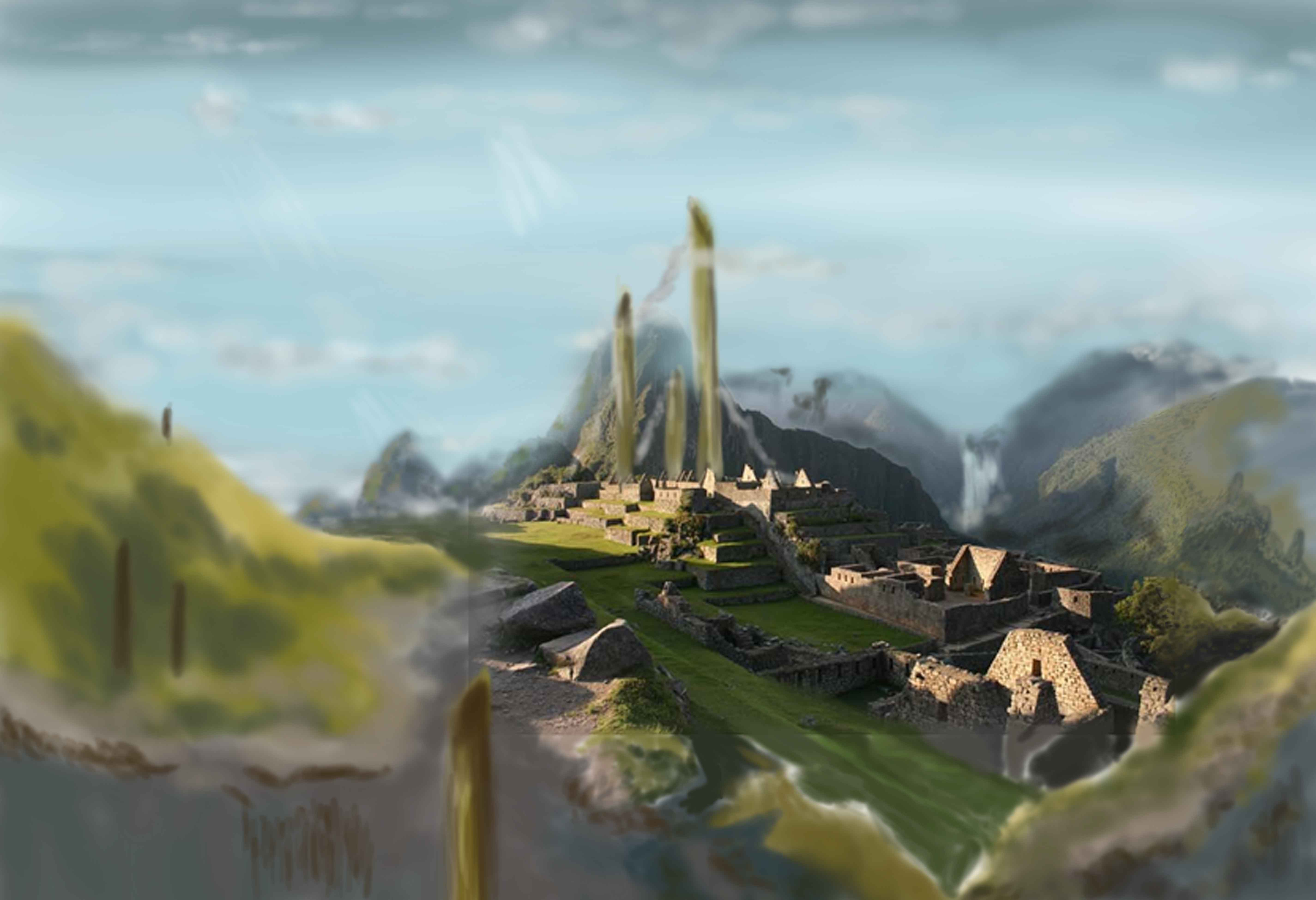 Matte painting aki yami game artist share this baditri Gallery